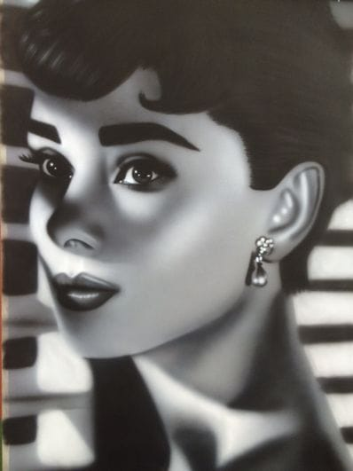 Audrey Hepburn by Sheehan
