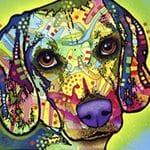 Dog Pop Art 115405