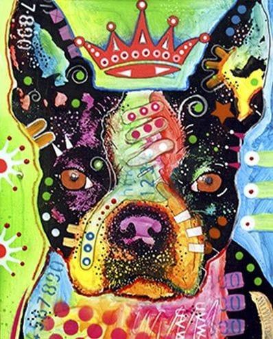 Dog Pop Art 115407