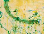 Frogs and Banana Leaf - John Olsen