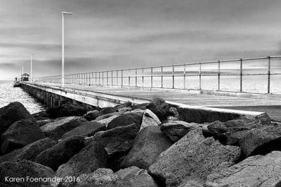 Mordialloc Pier by Karen Foenander