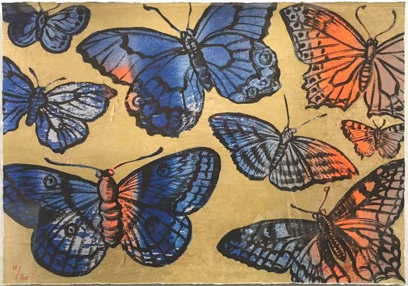 Thumbnail David Bromley - Gold Butterflies