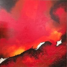 Burning Sky I