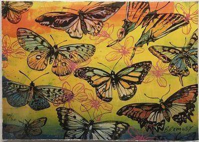 Yellow Butterflies David Bromley
