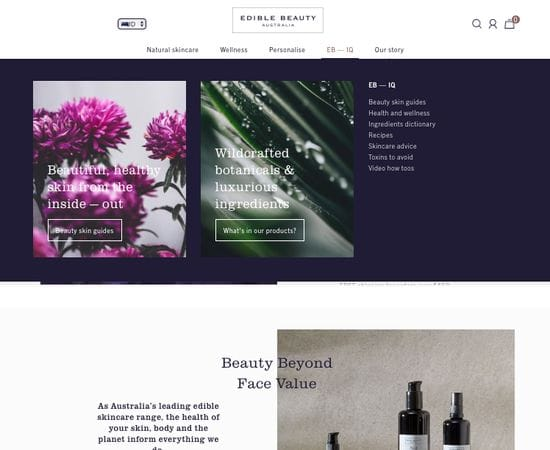 New Beauty / Wellness Website built with customers in mind