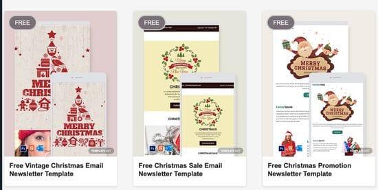 5 Christmas Freebies for Marketing