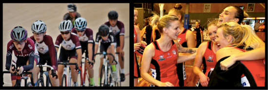Media Release - Netball QLD and Cycling QLD sign on to M5 SportsPath