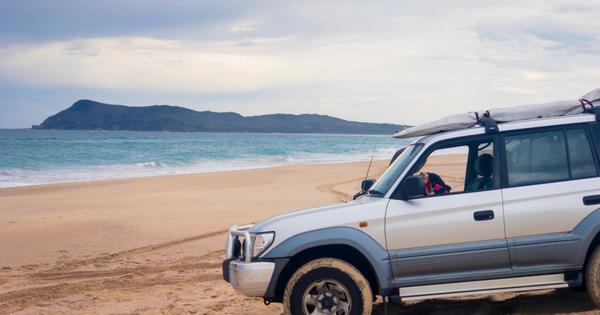 4WD Beach Driving