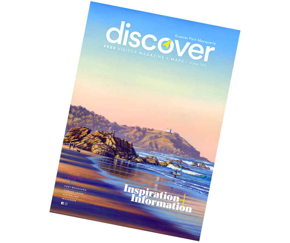 Discover Magazine winter 2019 Cover