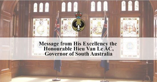 A Message for All South Australians