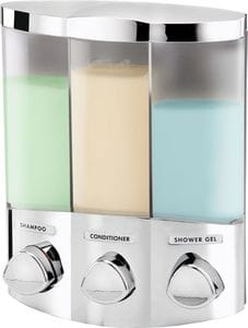 EURO Trio Dispenser 3 - Chrome