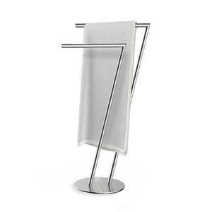 SETTE Double Towel Stand - Chrome