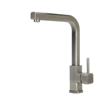 SWEDIA CUBEX Stainless Steel Kitchen Sink Mixer Swivel Spout - Brushed