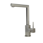SWEDIA ISAR Stainless Steel Kitchen Sink Mixer Swivel Spout - Brushed