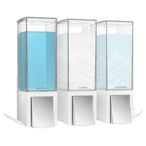 CLEVER 500ml Dispenser Triple - Matte White