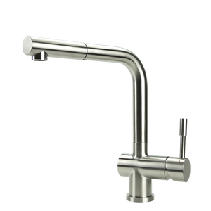 SWEDIA SIGGE Stainless Steel Kitchen Mixer Tap With Pull-Out - Brushed Finish