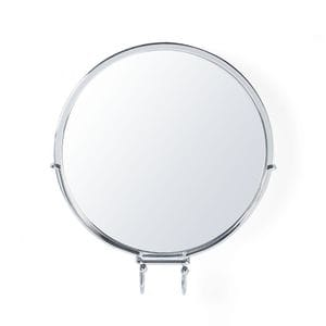 KROMA Stick N Lock Shower Mirror - Chrome