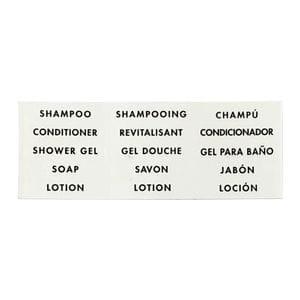 Labels - Universal Black on White