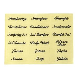 Labels - SIGNATURE only