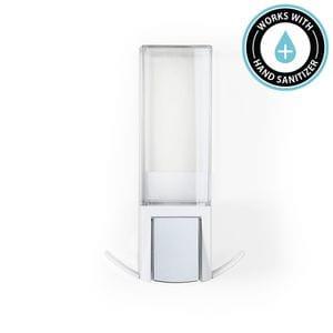 CLEVER 500ml Soap and Sanitiser Dispenser - Matte White