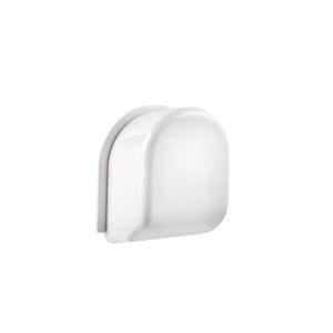 CLASSIC Style White Button (Horseshoe shape)