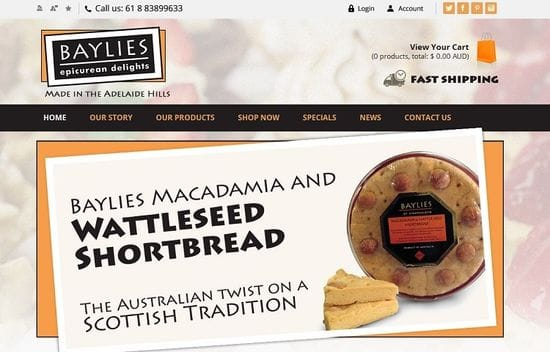 New Website Launched for Baylies Delights