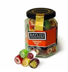 Baylies Assorted Rock Lollies 190g