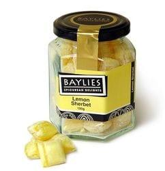 Baylies Lemon Sherbet Lollies 190g