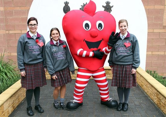 HEALTHY HEART DAY: #GC ILY DAY