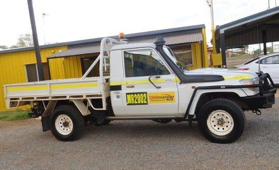 ONE WAY - Toyota Landcruiser single cab Utility