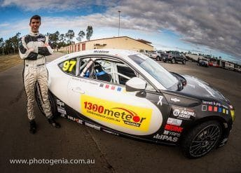 McAdam secures vital local sponsor for Townsville round