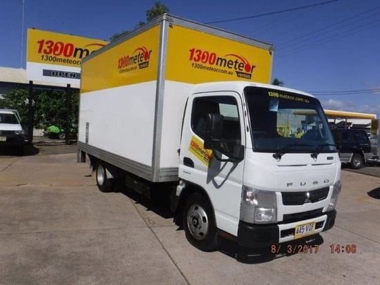 One Way Special - 2t Furniture Truck (20m3) with tailgate lift
