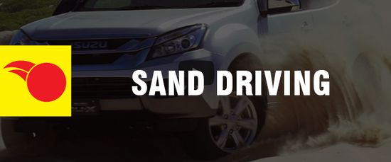 4WD Driving Tips - Sand Driving