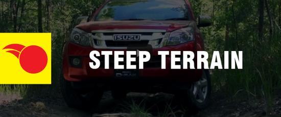 4WD Driving Tips - Steep Terrain