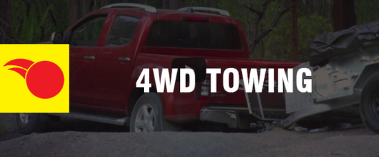 4WD Driving Tips - Towing
