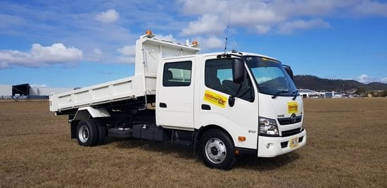 Introducing the Hino 4.5 tonne Crew Cab tipper