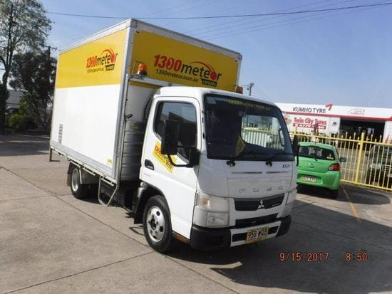 One way Furniture Truck with Ramp