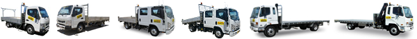 Tray Dropside Crane Tipper Truck Hire and rental