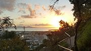 Sunrise over Townsville CBD from Castle Hill