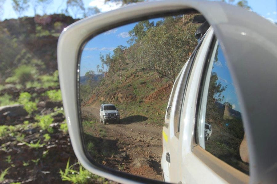 On the road to Rigby Falls via Mt Isa