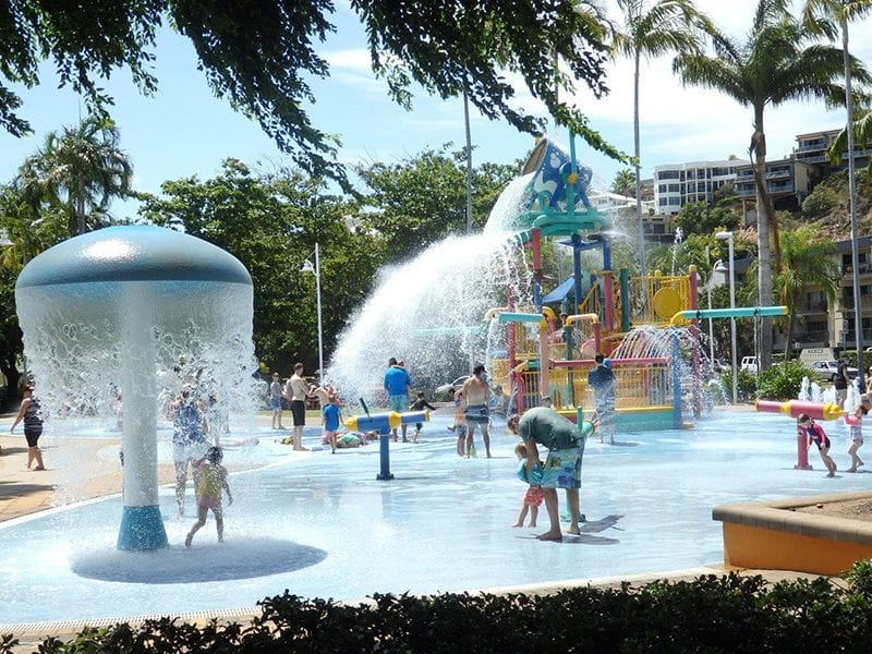 Water Park on Townsville's Strand