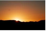 Dawn breaking in Mt Isa
