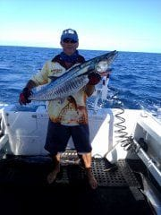 The fishing is great off Townsville!
