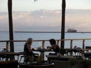 View from the C-Bar on Townsville's Strand