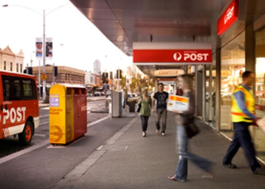AUSTRALIA POST LICKED ON POLICY