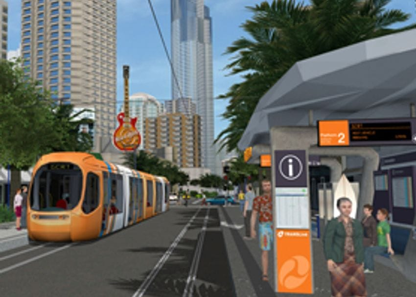 BRISBANE AWARDED FIRST LIGHT RAIL CONTRACTS