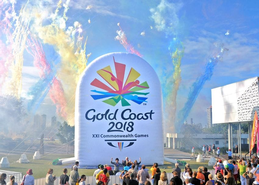 COMMONWEALTH GAMES EMBLEM IS UNVEILED