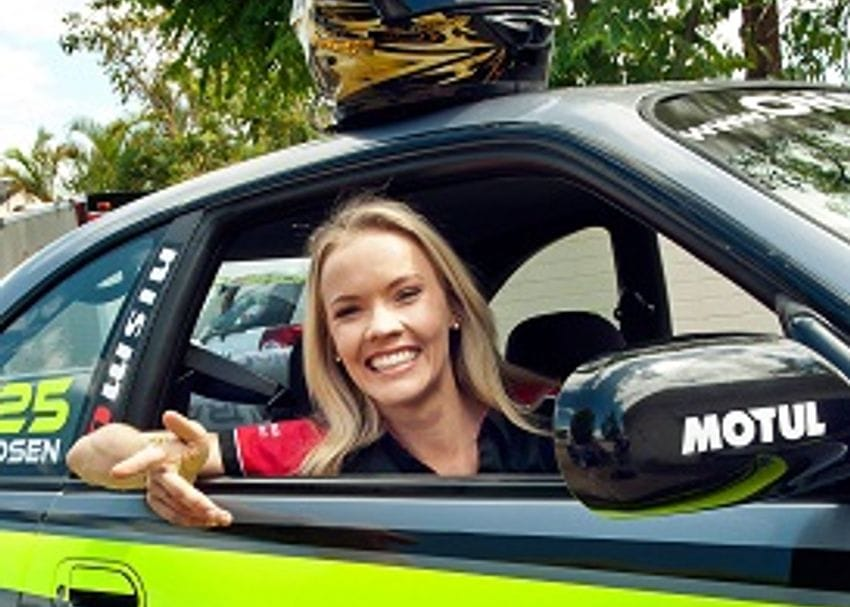 COUPLE ALL REVVED UP ABOUT NEW MOTORSPORT VENTURE