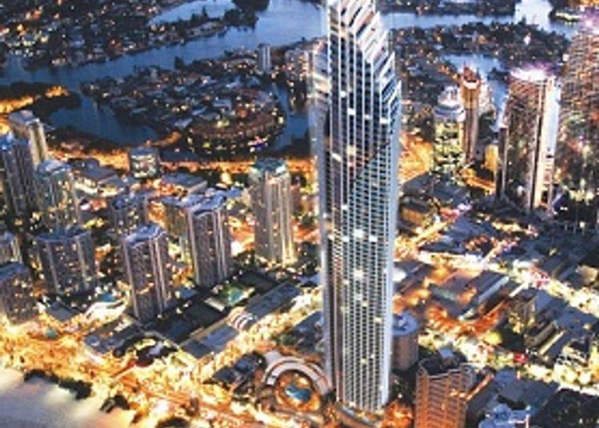 CREDITORS MOVE ON LUXURY BEACHFRONT TOWER