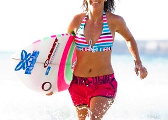 FEMALE SURF CHAMPION'S GETAWAY REVEALED